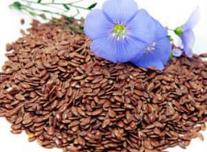 Семена льна и отеки